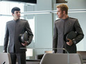 Spock (Zachary Quinto) and Kirk (Chris Pine) in &#39;Star Trek Into Darkness&#39;