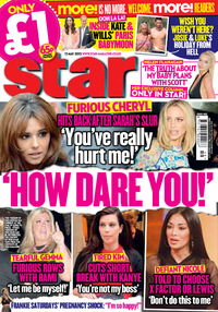 Star Magazine 13 May 2013 cover