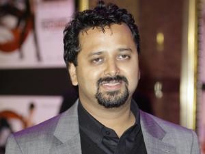 Bollywood Director Nikhil Advani arrives for the European Premiere of 'Chandni Chowk to China' at a central London cinema, Monday, Jan. 12, 2009.