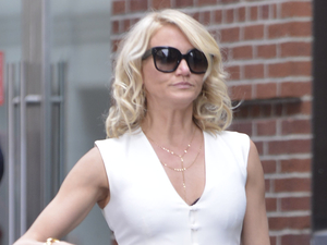 Cameron Diaz, The Other Woman, film set, New York