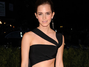 Emma Watson, best dressed, PRABAL GURUNG dress, Punk: Chaos To Couture exhibition, Metropolitan Museum of Art, New York, 2013 Met Ball