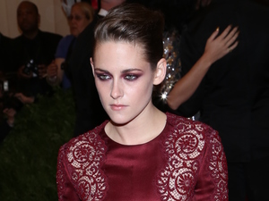 Kristen Stewart, stella mccartney jumpsuit, Costume Institute Gala Benefit celebrating the Punk: Chaos To Couture exhibition, Metropolitan Museum of Art, New York, met ball 2013