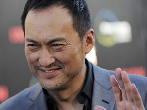 "Japanese actor Ken Watanabe, a cast member in ""Inception,"" arrives at the premiere of the film in Los Angeles, Tuesday, July 13, 2010"