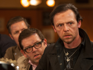 Martin Freeman, Paddy Considine, Simon Pegg, Nick Frost and Eddie Marsan in 'The World's End'.