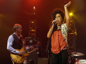 Amy Winehouse and Paul Weller at the Roundhouse - Electric Proms 2006