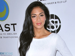 Nicole Scherzinger, 15th Annual From Slavery To Freedom Event, Los Angeles, white dress