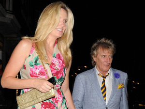 Penny Lancaster, Rod Stewart, height differences, celebrity couples
