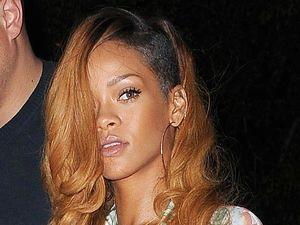 Rihanna, Balmain, skater skirt, New York, plunging