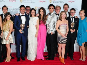 The 2013 Baftas - winners: The Cast of Made in Chelsea with the Reality and Constructed Factual Award for Made in Chelsea