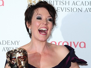 The 2013 Baftas - winners: Olivia Coleman - Best Female in a comedy Award for Twenty Twelve