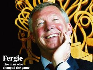 Sir Alex Ferguson retires: The Times supplement for Thursday, May 9 2013
