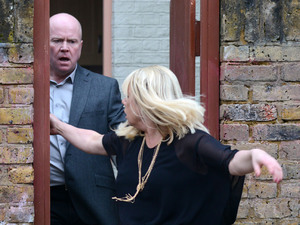 Phil chucks Sharon out.