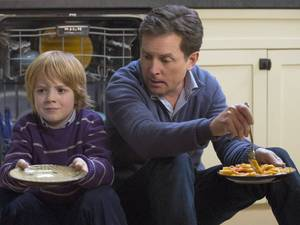 Jack Gore and Michael J. Fox star in 'The Michael J. Fox Show'