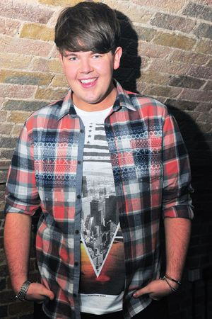 X Factor star Craig Colton