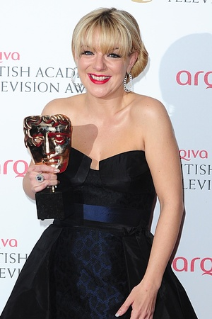 The 2013 Baftas - winners: Sheridan Smith - Best Leading Actress