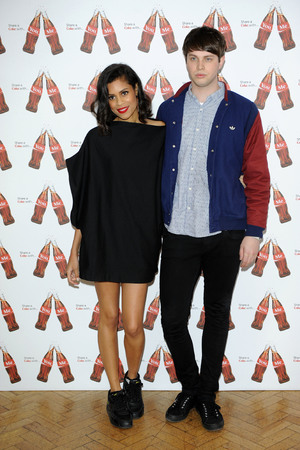 AlunaGeorge at the launch of Coca-Cola's 'Share A Coke' campaign in London