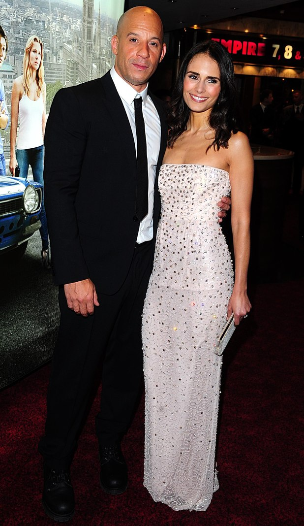 Fast & Furious 6 - UK premiere: Vin Diesel and Jordana Brewster