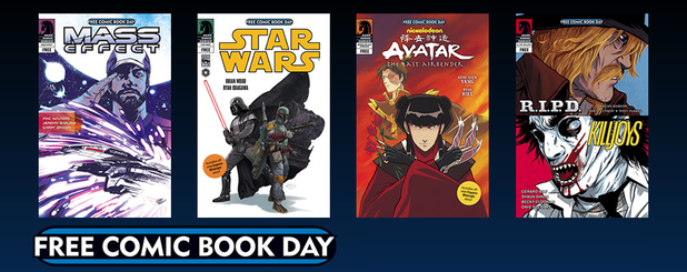 Dark Horse comics Free Comic Book Day advert