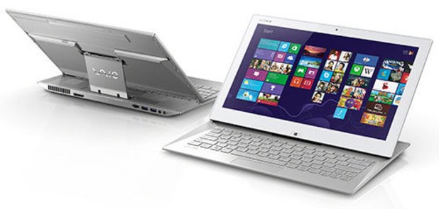 Sony Ultrabook with 'SurfSlider' design