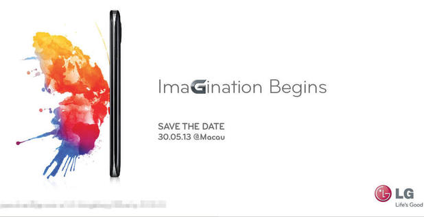LG media invite for May 30 product unveiling