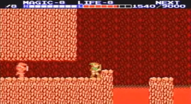 Zelda 2: The Adventure of Link screenshot