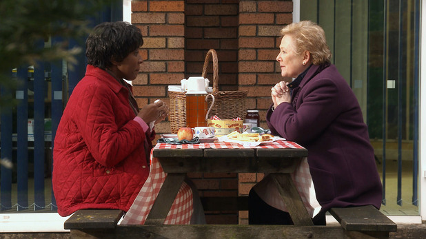 Mrs Tembe meets with Barbara