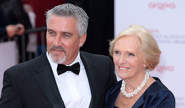 The 2013 Baftas - arrivals: Paul Hollywood and Mary Berry