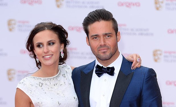 The 2013 Baftas - arrivals: Lucy Watson and Spencer Matthews