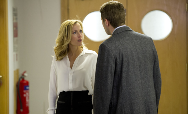 Gillian Anderson as DSI Stella Gibson in 'The Fall'
