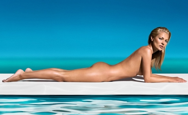 Kate Moss wears The Ultimate Tan as the new face and body of St.Tropez