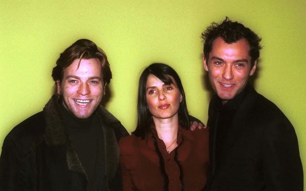 Jude Law, Ewan McGregor, Sadie Frost, famous flatmates, 1990