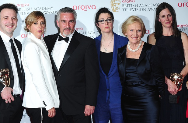 The 2013 Baftas - winners: The Great British Bake Off - Best Features Award