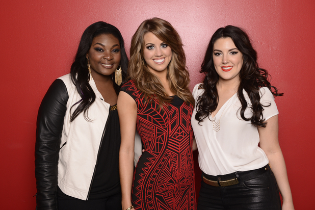 'American Idol': Season 12 semi-finalists Candice Glover, Angie Miller and Kree Harrison