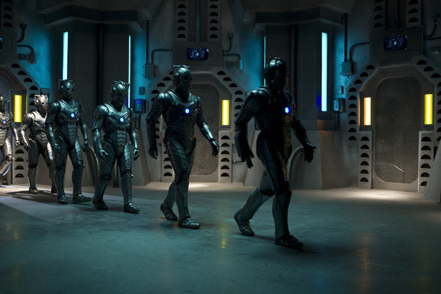 Cybermen in Doctor Who S07E07: 'Nightmare in Silver'