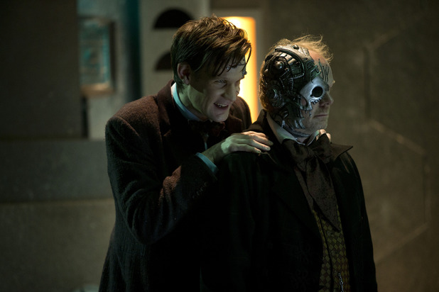 The Doctor (Matt Smith) in Doctor Who S07E07: 'Nightmare in Silver'