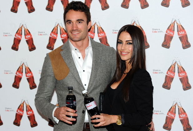 Jessica Lowndes & Thom Evans at the launch of Coca-Cola's 'Share A Coke' campaign in London