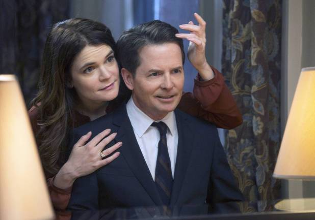 Betsy Brandt and Michael J. Fox star in 'The Michael J. Fox Show'