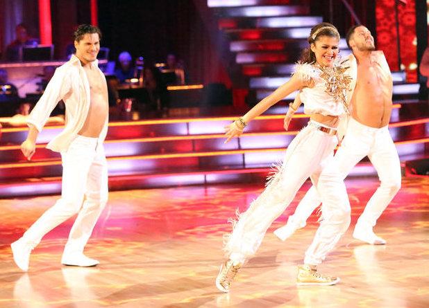Week 8: Zendaya & Val Chmerkovskiy - dancing with Gleb Savchenko