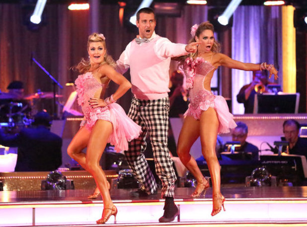 Week 8: Ingo Rademacher & Kym Johnson - dancing with Lindsay Arnold