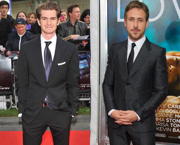 Andrew Garfield, Ryan Gosling,