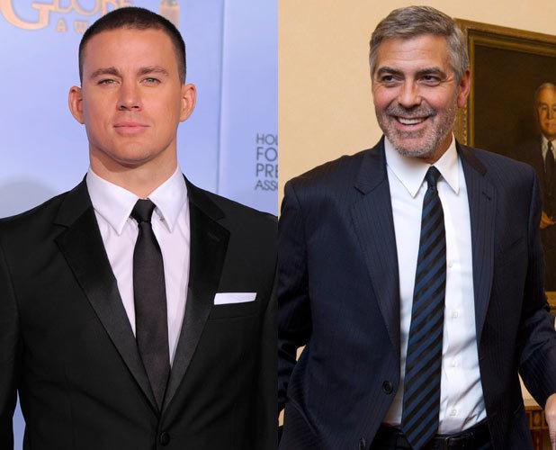 Channing Tatum, George Clooney