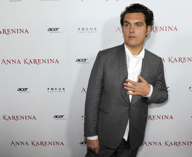 Joe Wright at the premiere of 'Anna Karenina', November 2012