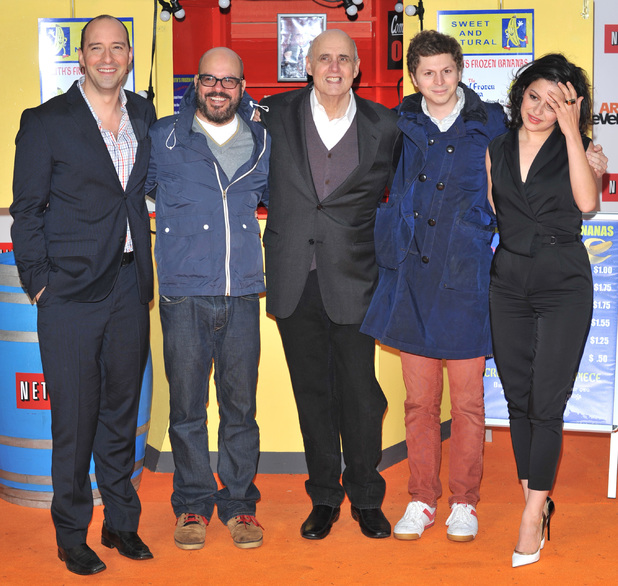 Tony Hale, David Cross, Jeffrey Tambour, Michael Cera & Alia Shawkat at the UK premiere for the launch of 'Arrested Development' on Netflix