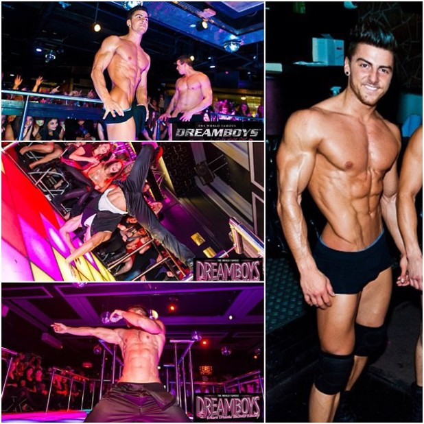 Dreamboys, battle of the pecs, twitter, Rowan