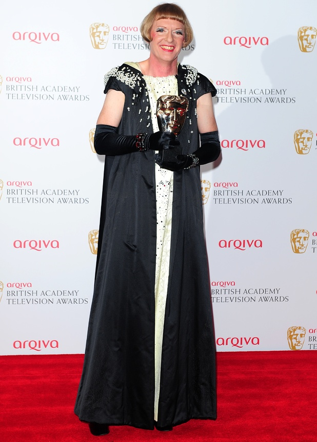 The 2013 Baftas - winners: Grayson Perry - Best Specialist Factual Programme Award for All in the Best Possible Taste
