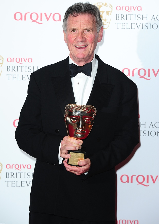 The 2013 Baftas - winners: Michael Palin - Fellowship Award