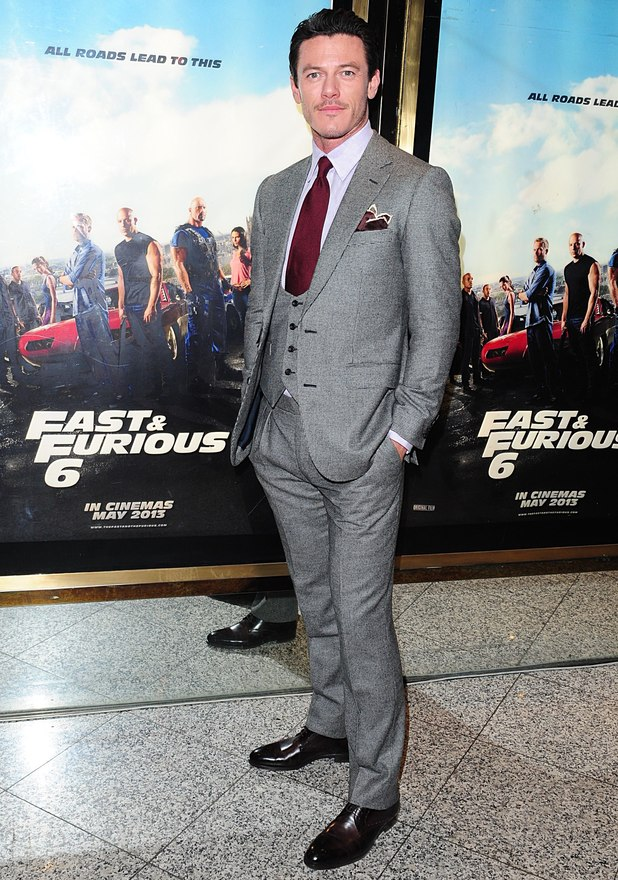 Fast & Furious 6 - UK premiere: Luke Evans