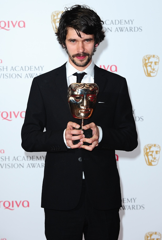 The 2013 Baftas - winners: Ben Whishaw - Best Leading Actor Award for Richard II