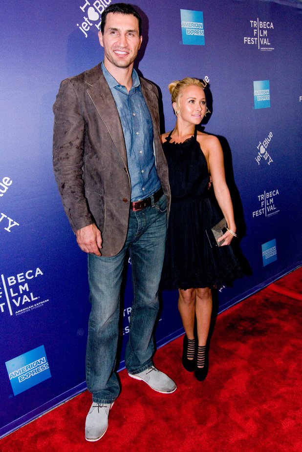 Hayden Panettiere and husband height difference