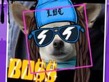 A screenshot of Snoop Dogg's Snoopify Sticker Camera! on iOS